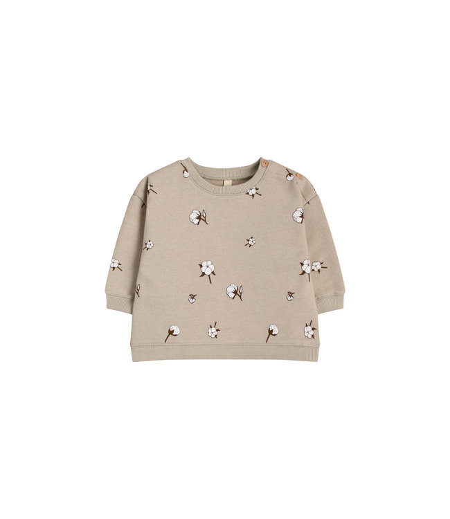 Organic Zoo Sweatshirt 'cotton field'
