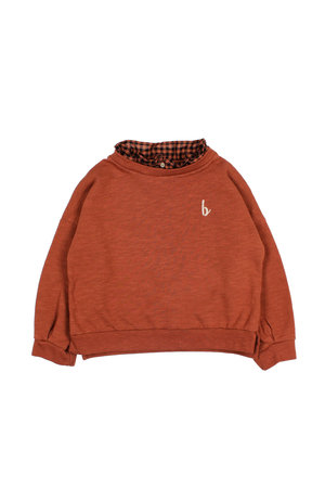 Buho Boheme knit girl sweater - argile
