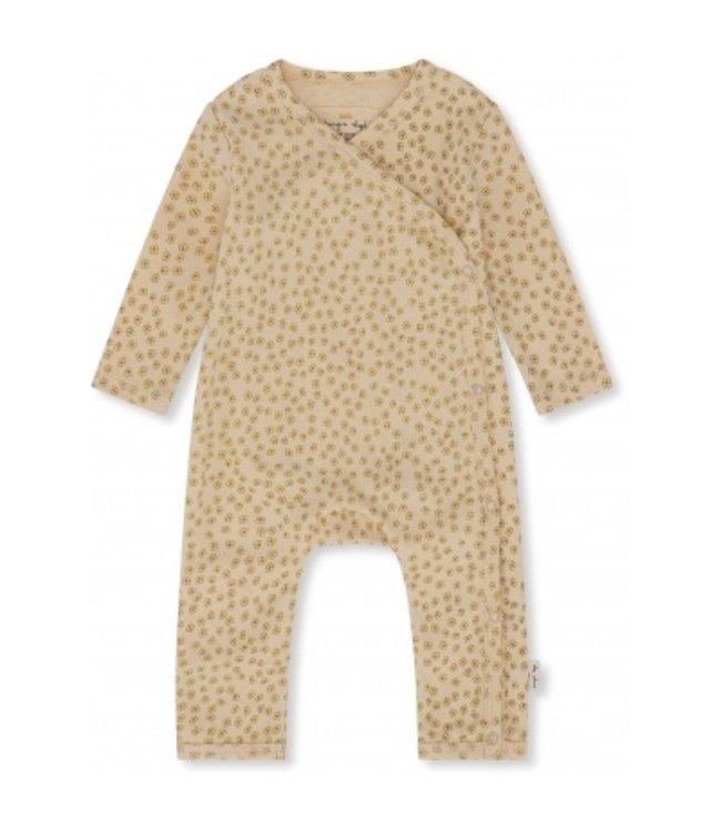 New born onesie - petit bisou