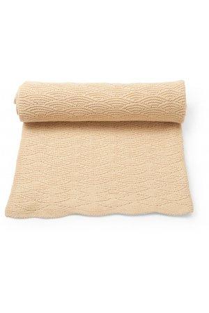 Konges Sløjd Pointelle cotton blanket - moonlight