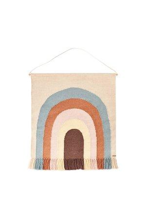 OYOY MINI Follow the rainbow - wall rug - multi