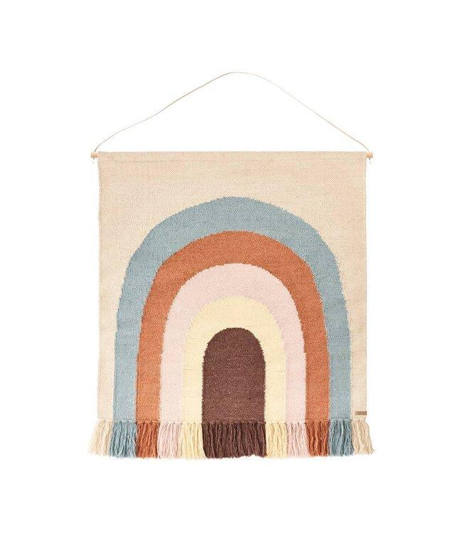 Follow the rainbow - wall rug