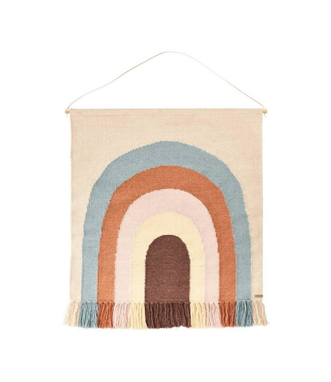 OYOY MINI Follow the rainbow - wall rug - multi