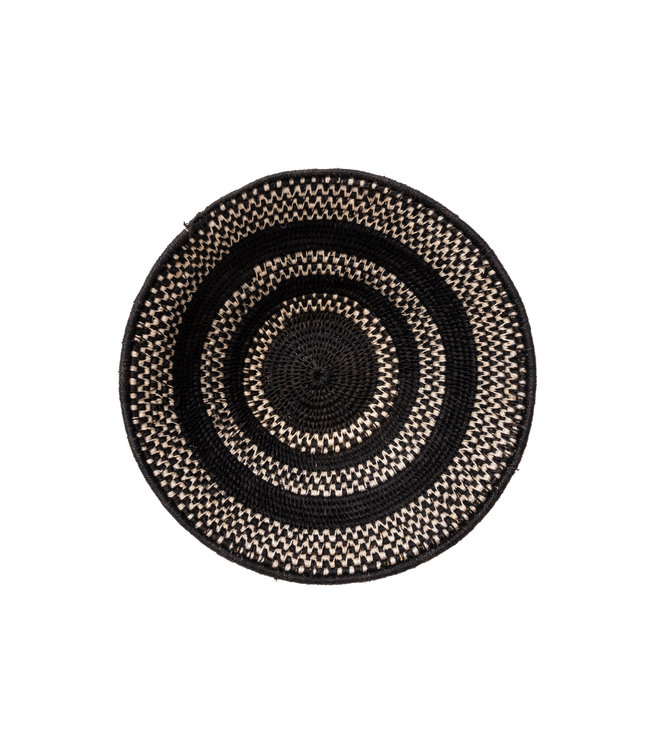 Sisal bowl Zienzele Ø30 cm H11 cm  #433