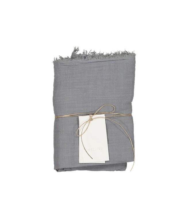 Cotton swaddle blanket - stormy sky