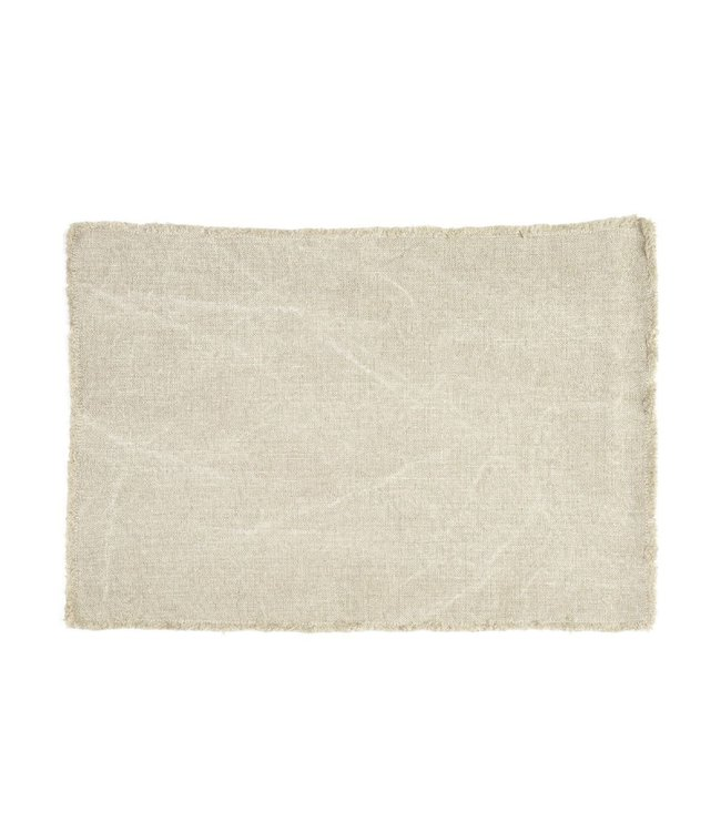 Libeco Pacific place mat - flax