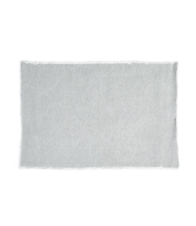 Libeco Pacific place mat- gray