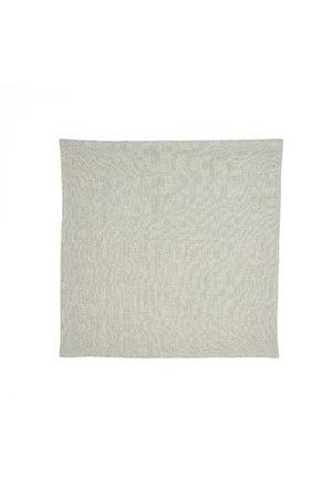 Libeco Skye napkin - silver