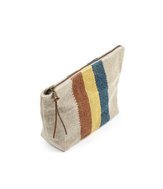 Libeco The Belgian pouch mini etui - mercurio stripe