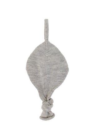 Hvid Titi comforter - grey melange