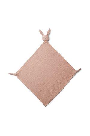 Liewood Robbie multi muslin cloth - rabbit rose