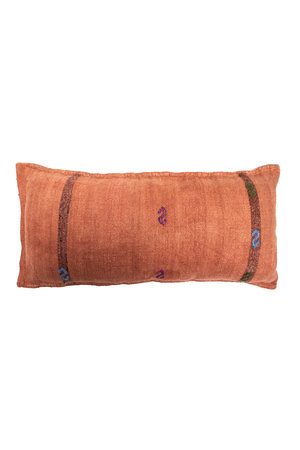 Kilim grain sack cushion #1
