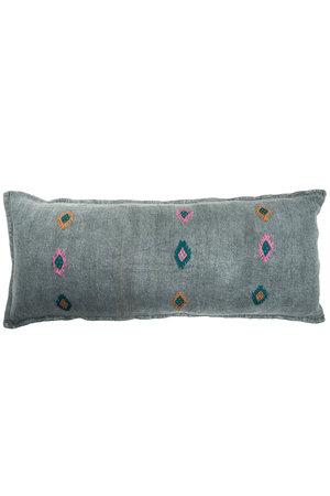 Kilim grain sack cushion #2