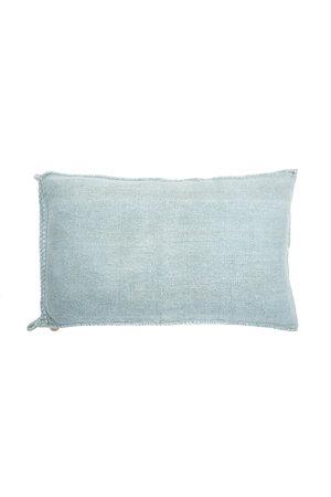 Kilim grain sack cushion #3