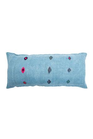 Kilim grain sack cushion #6