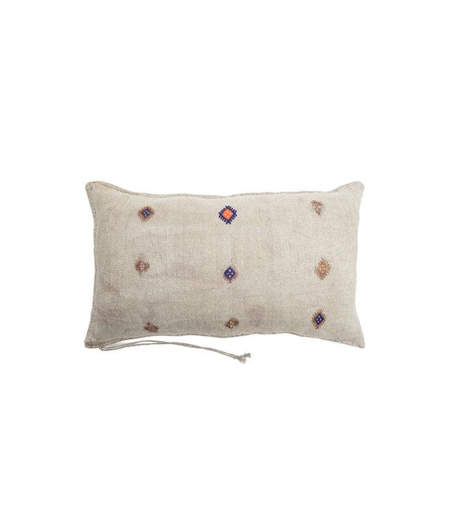 Kilim grain sack cushion #9