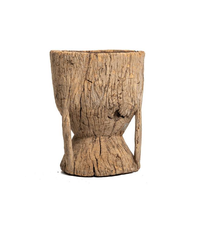 Oude houten vijzel Peul #2