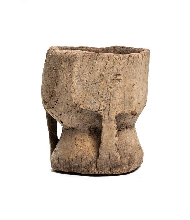 Oude houten vijzel Peul #5