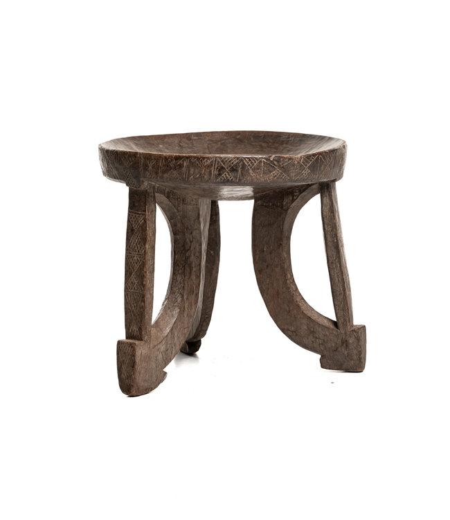 Old round stool Oromo #6