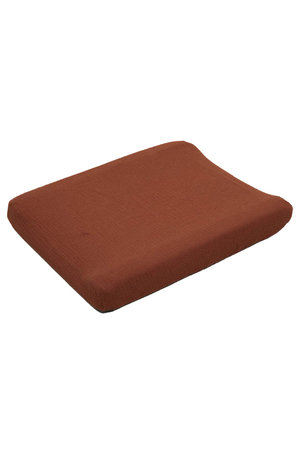 garbo&friends Cinnamon muslin changing mat cover