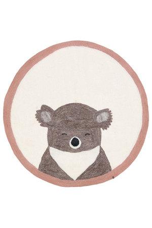 Pasu vilten tapijt koala - rose quartz