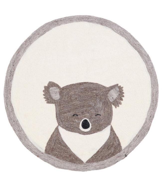 Muskhane Pasu vilten tapijt koala - pierre clair