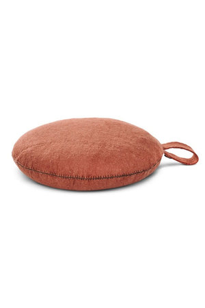 Muskhane Nomade felt seat cushion -  corail