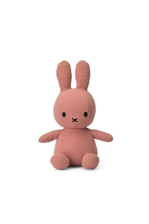 Miffy Nijntje knuffel mousseline - pink