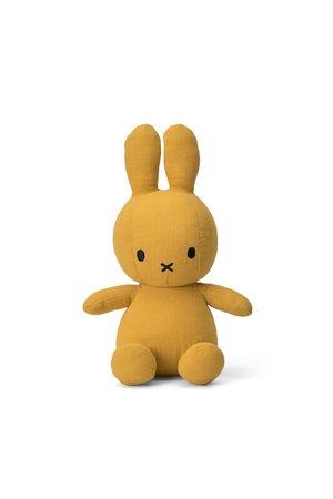 Miffy Nijntje knuffel mousseline - yellow