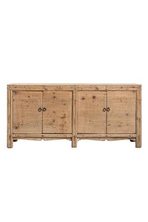 Sideboard 4-doors elm wood