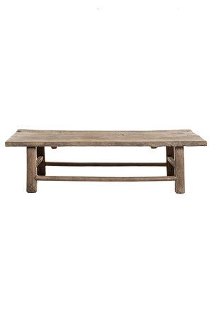 Coffee table elm wood - 151cm