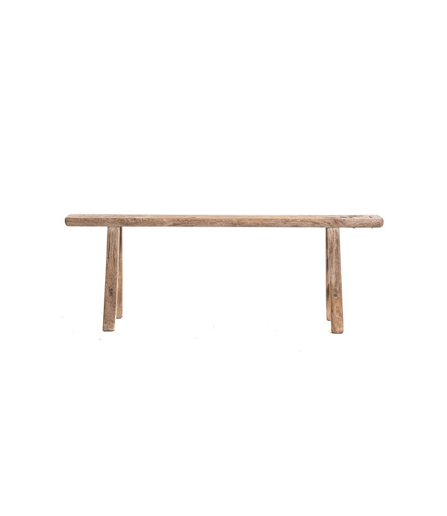 Small bench elm wood #1