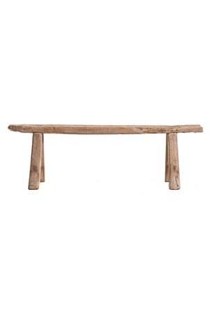 Small bench elm wood #2
