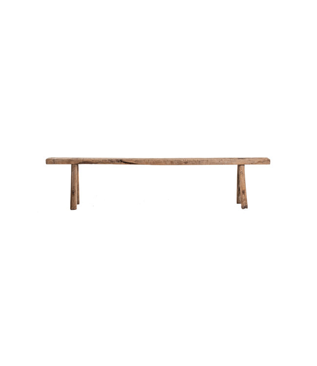 Small bench elm wood #3