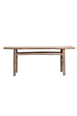 Sidetable elm wood 212cm
