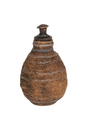 Borana Chocho milk container - basket # 24