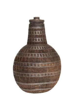 Borana Chocho milk container - basket # 34
