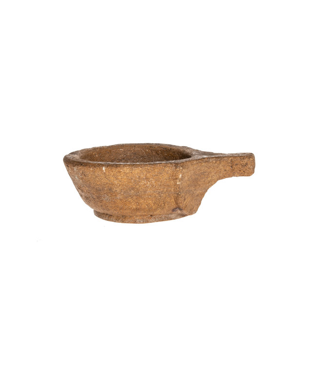 Bowl stone with handle #6