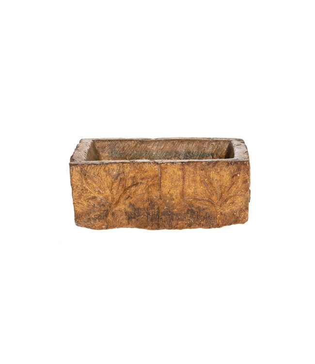 Rectangular bowl Jaisalmer stone - India