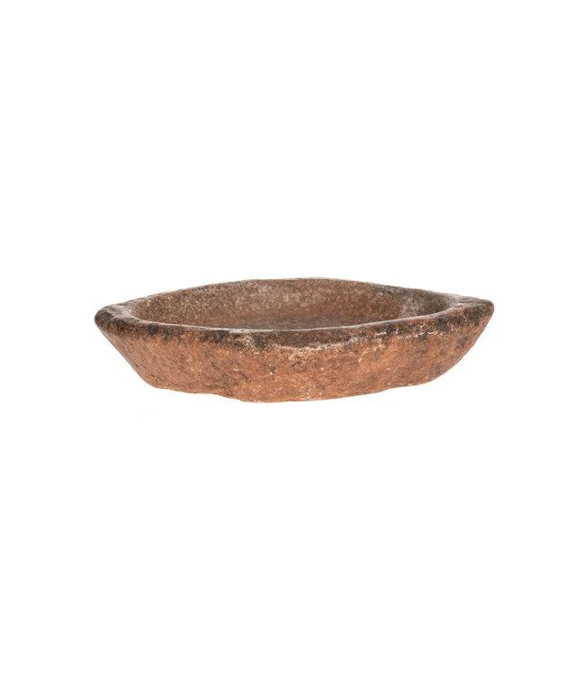 Old Indian massage oil bowl #4