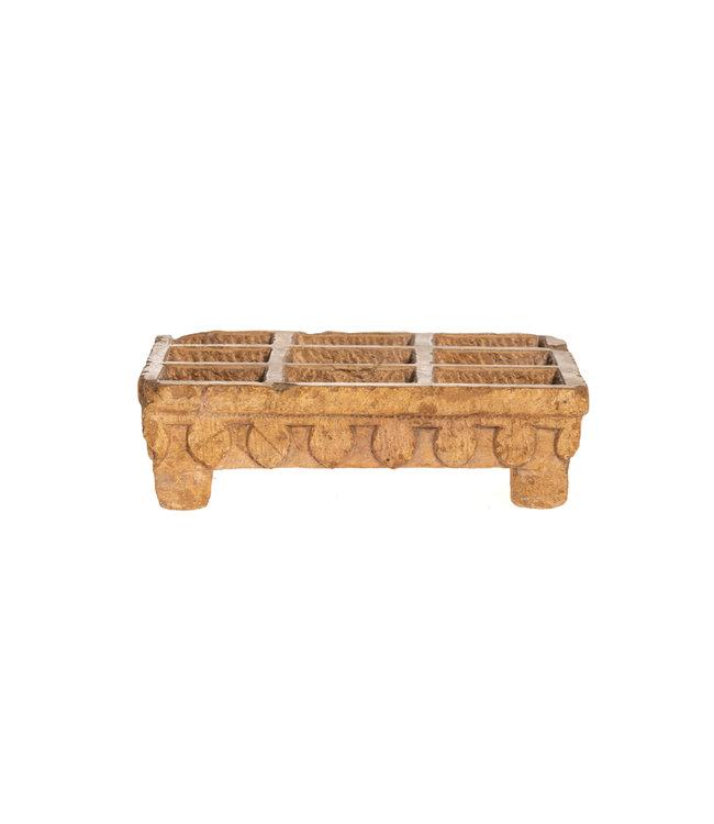 Unique herbal tray Jaisalmer stone - India
