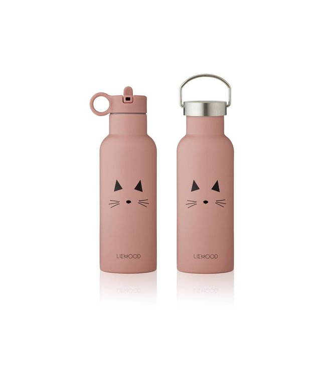 Liewood Neo water bottle - cat rose