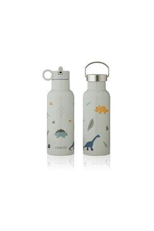 Liewood Neo water bottle - dino dove blue mix