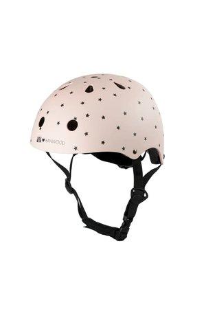 Banwood Classic helmet - bonton - matte pink