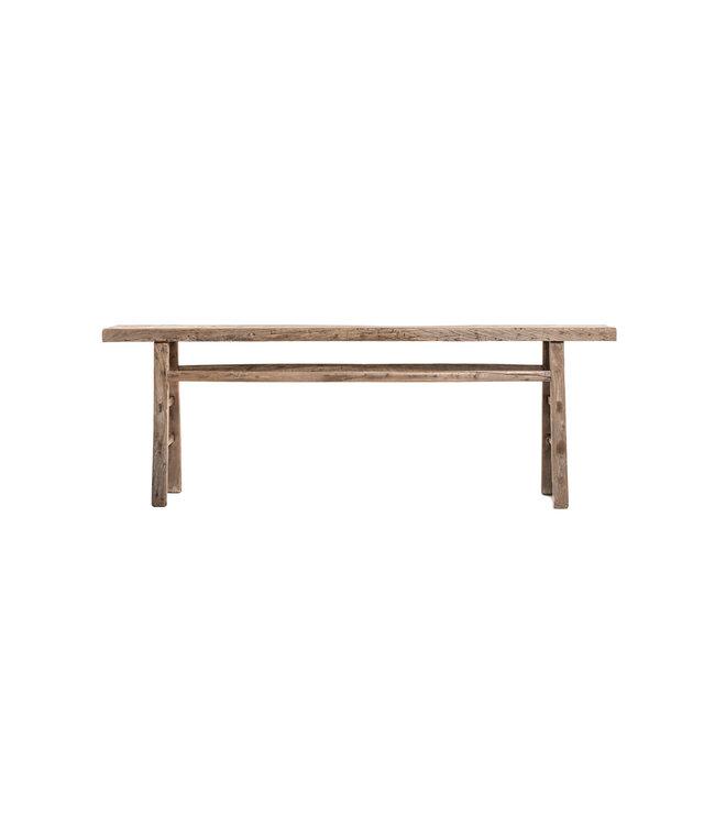 Sidetable elm wood 226cm