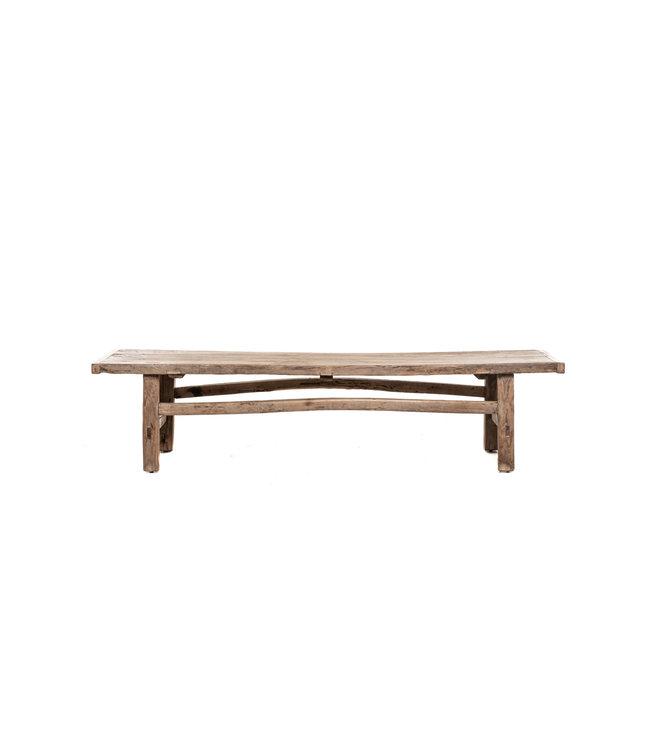 Coffee table elm wood 181cm