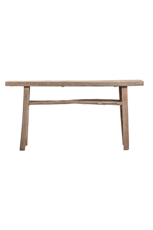Sidetable elm wood 156cm