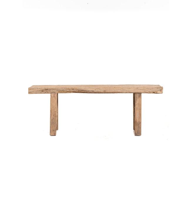 Bench elm wood 139cm