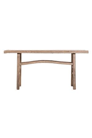 Sidetable elm wood 173cm
