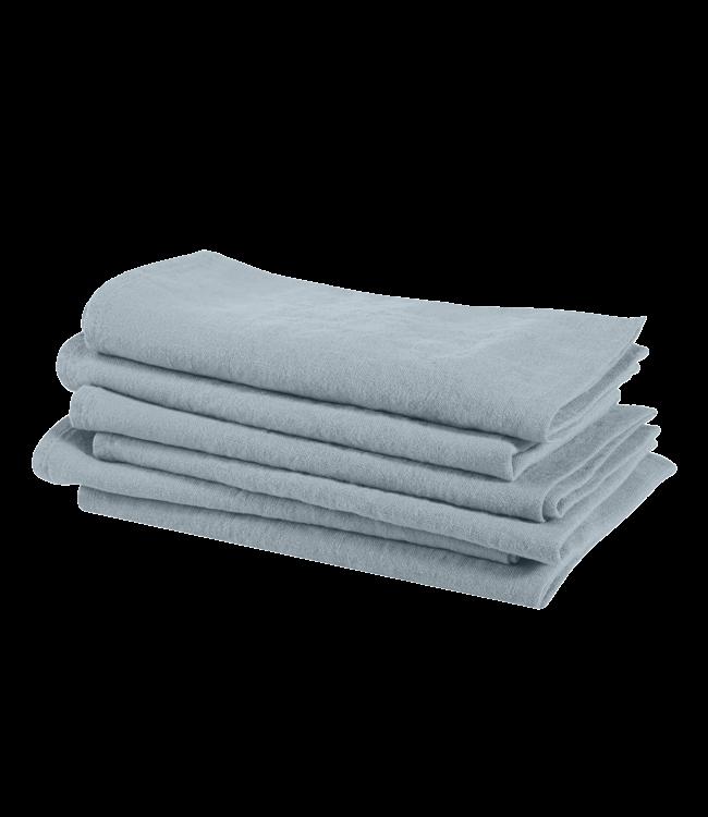 Linge Particulier Napkin linen - scandinavian blue